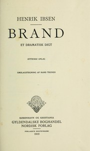 Cover of: Brand