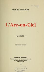 Cover of: L'arc-en-ciel