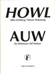 Cover of: Howl + Auw
