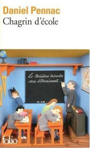 Cover of: Chagrin d'école