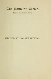 Cover of: Imaginary conversations