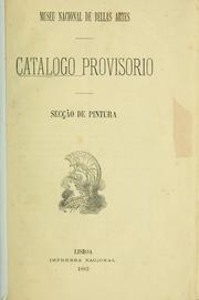 Cover of: Catalogo provisorio