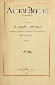 Cover of: Album-Bellini