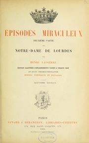 Cover of: Episodes miraculeux
