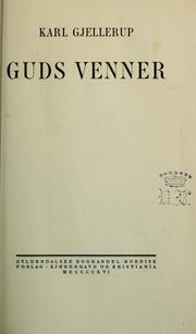 Cover of: Guds venner