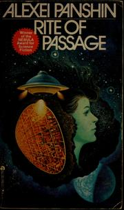 Cover of: Rite of passage