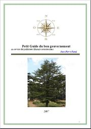 Cover of: Petit Guide du Bon Gouvernement.