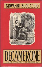 Cover of: Decamerone