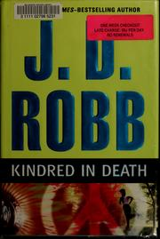 Cover of: Kindred in death
