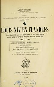 Cover of: Louis XIV en Flandres