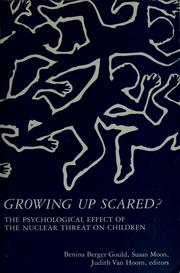 Cover of: Growing up scared?