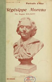 Cover of: Hégésippe Moreau
