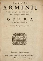 Cover of: Opera theologica ...