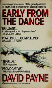 Cover of: Early from the dance