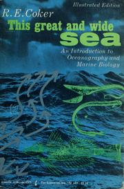 Cover of: This great and wide sea