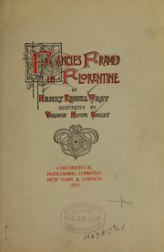 Cover of: Fancies framed in Florentine