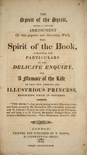 Cover of: The spirit of the spirit