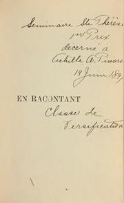 Cover of: En racontant