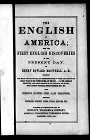 Cover of: The English in America