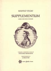 Cover of: Supplementum, libro XIII dell'Eneide. Versione, commento e saggi di Stefano Bonfanti