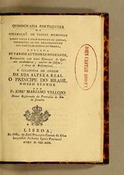 Cover of: Quinografia portugueza