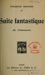 Cover of: Suite fantastique