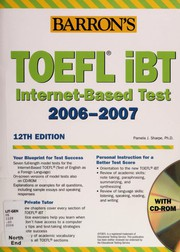 Cover of: Barron's TOEFL iBT: Internet-Based Test 2006 - 2007