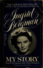 Cover of: Ingred bergman
