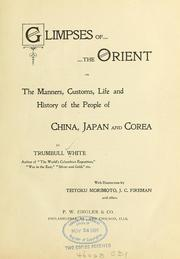 Cover of: Glimpses of the Orient