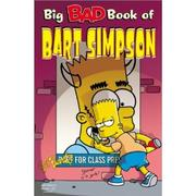 Cover of: Big bad book of Bart Simpson