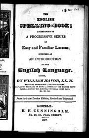 Cover of: The English spelling book