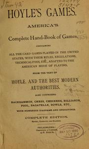 Cover of: Holye' games