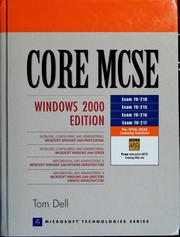 Cover of: Core MCSE