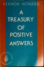 Cover of: A treasury of positive answers