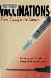 Cover of: Vaccinations