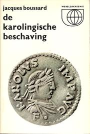Cover of: De Karolingische beschaving