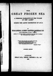 Cover of: The great frozen sea