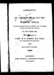 Cover of: Narrative of an attempt to reach the North Pole