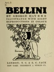 Cover of: Bellini