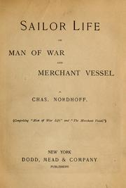 Cover of: Sailor life on Man of War and Merchant Vessel