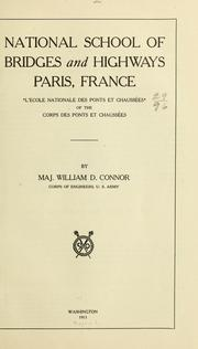 Cover of: National school of bridges and highways, Paris, France