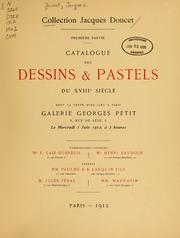 Cover of: Collection Jacques Doucet
