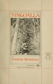 Cover of: Singoalla: a mediaeval legend