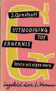 Cover of: Uitnodiging tot ergernis