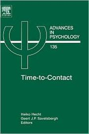 Cover of: Time-to-Contact