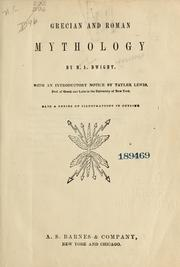 Cover of: Grecian and Roman mythology