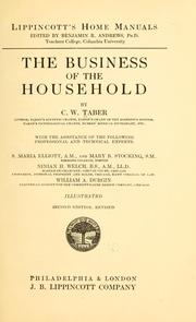 Cover of: The business of the household