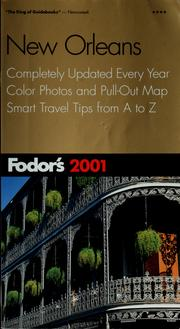 Cover of: Fodor's 2001 New Orleans