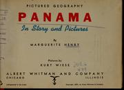 Cover of: . Panama in story and pictures