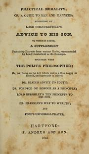 Cover of: Practical morality, or, A guide to men and manners